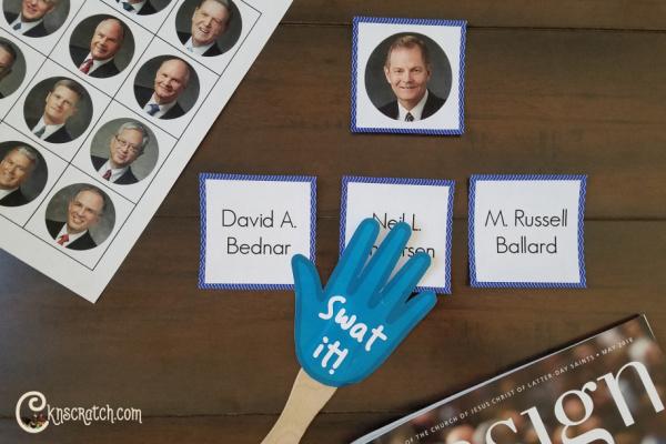 Fun Bingo and Swat it game to learn the name of the apostles #teachlikeachicken