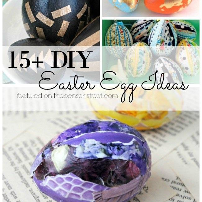 Egg ideas from The Benson Street