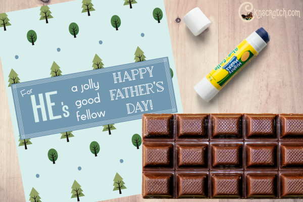 Free Father's Day candy wrapper! Love it! #FathersDay #teachlikeachicken #Freeprintable