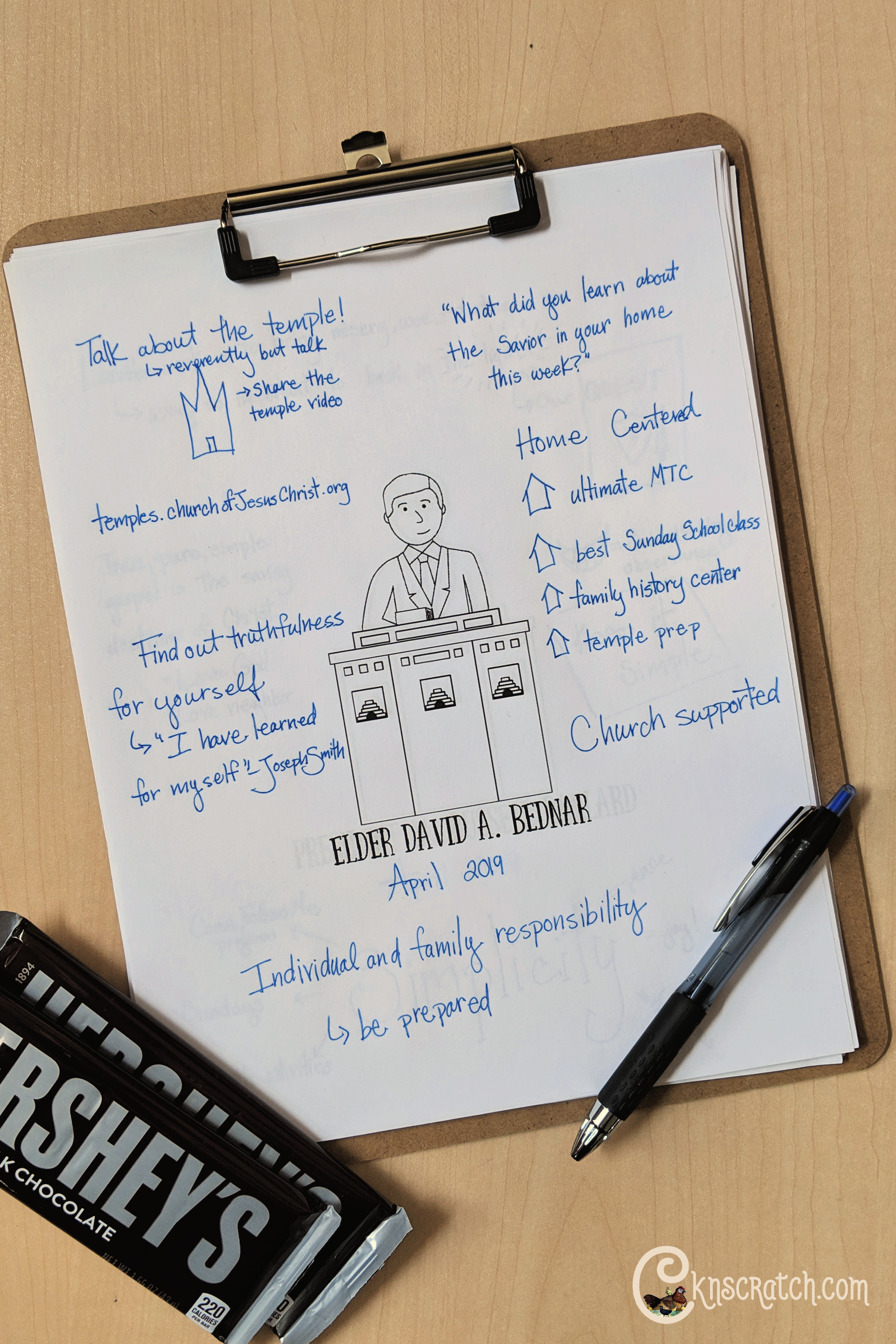 "Love these questions to ponder and ideas for Elder David A. Bednar's talk ""Prepared to Obtain Every Needful Thing"" (April 2019) #teachlikeachicken #GeneralConference #ElderBednar"