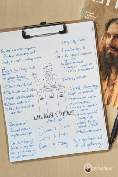 """Great questions to help you ponder and discuss """"Missionary Work: Sharing What Is in Your Heart"""" by Elder Dieter F. Uchtdorf (April 2019) #teachlikeachicken #GeneralConference #LDS"""