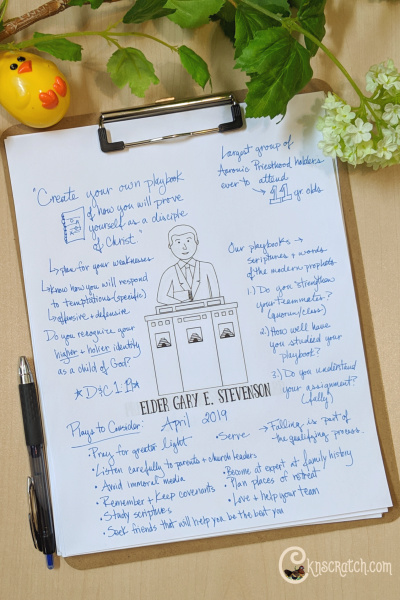 "Great discussion ideas for Elder Gary E. Stevenson's talk ""Your Priesthood Playbook"" (April 2019) #teachlikeachicken #EldersQuorum #GeneralConference #LDS"