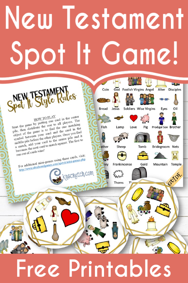 LOVE this! A free New Testament Spot It Game! So much fun for my little ones! (AND all the bonuses!! Can't believe it's free) #teachlikeachicken #ComeFollowMe #LDS