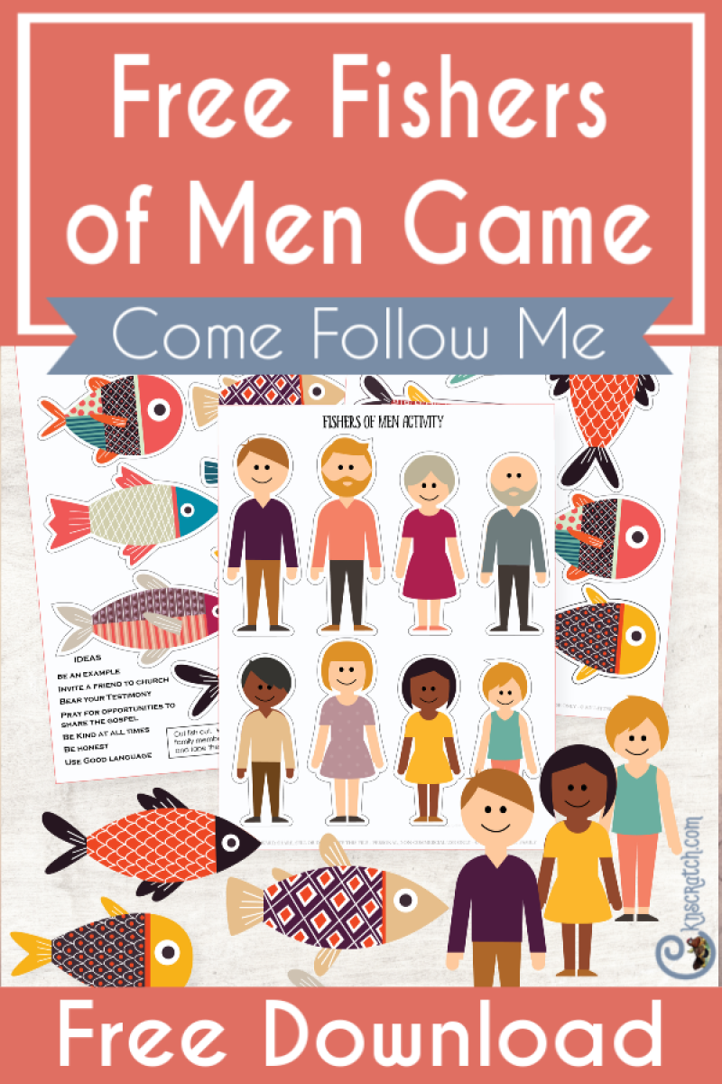 Fishers of Men Printable Game! — Chicken Scratch N Sniff