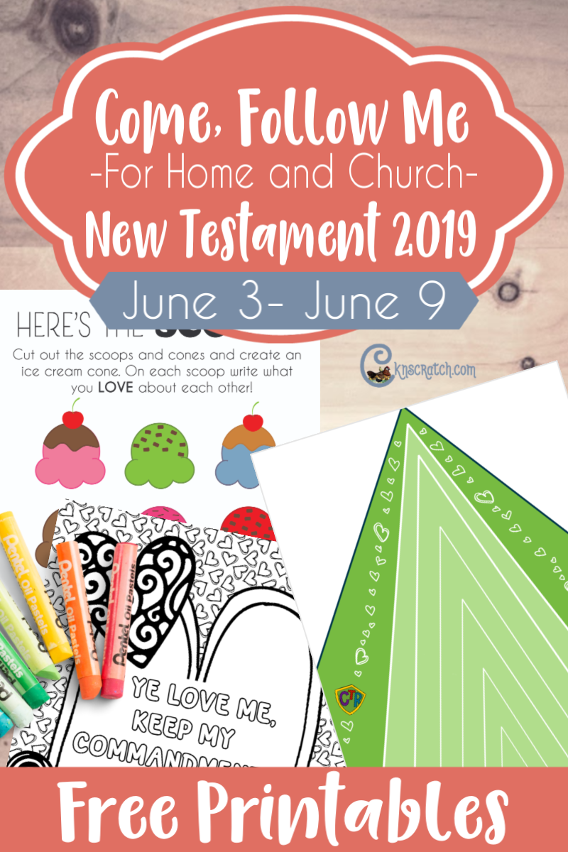 """EXCELLENT! Free printables and a ton of resources to help you study and teach Come Follow Me John 13-17 """"Continue Ye in My Love"""" (June 3-9) #teachlikeachicken #ComeFollowMe #LDS"""