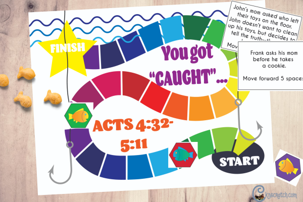 Free printable honesty game! Love it! #teachlikeachicken #ComeFollowMe #LDS