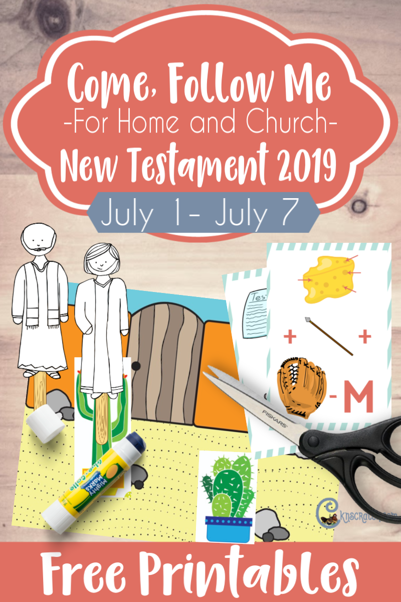 "Such great FREE printables and ideas to teach Acts 1-5 ""Ye Shall Be Witnesses unto Me"" (July 1-7) #teachlikeachicken #ComeFollowMe #LDS"