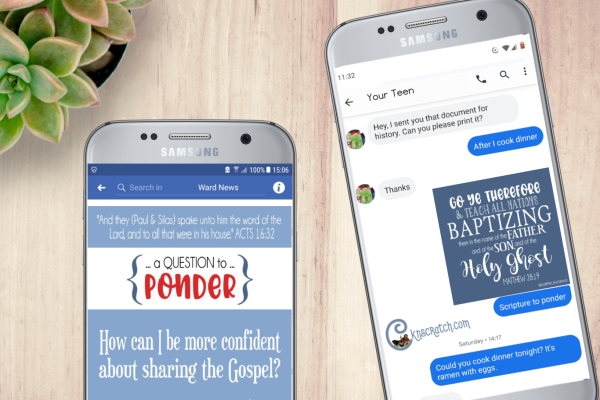 These New Testament Come Follow Me Textables are so handy! You can text them to your Sunday School class or put them in the ward email #teachlikeachicken #ComeFollowMe #LDS