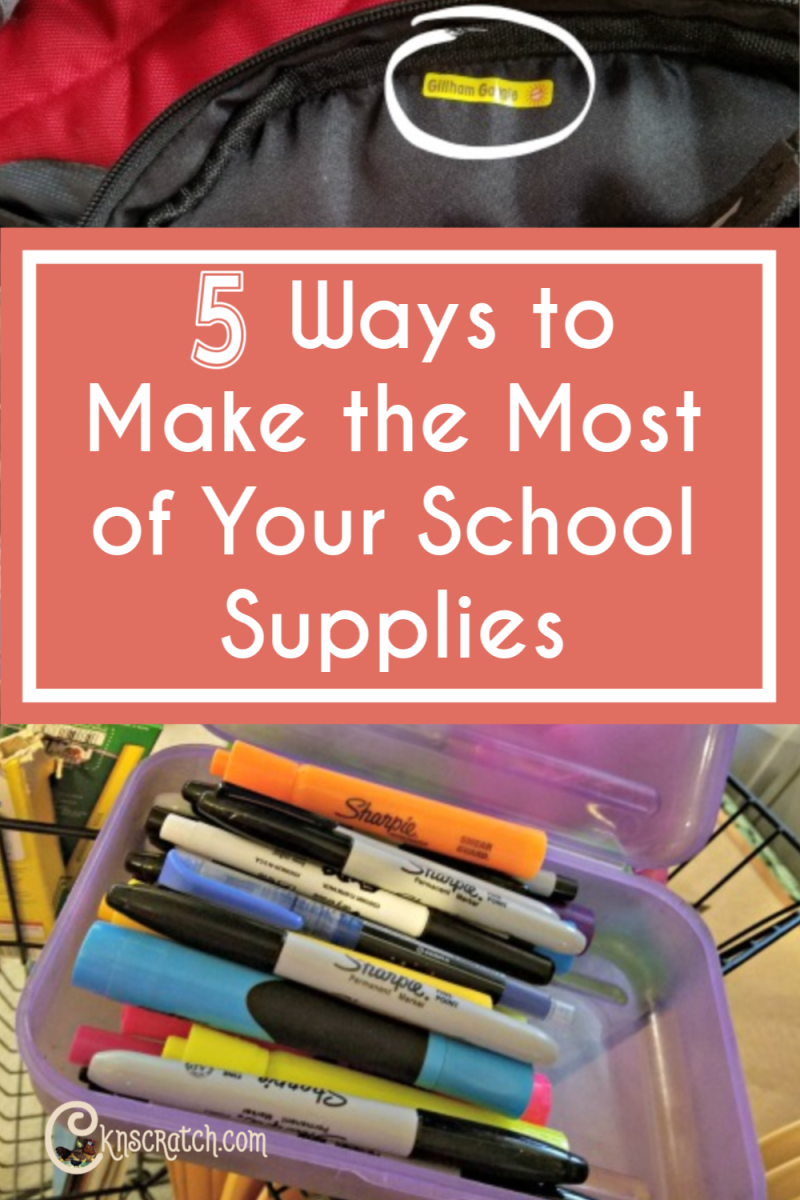 Great tips to keep in mind as you start buying back to school supplies #teachlikeachicken #backtoschool