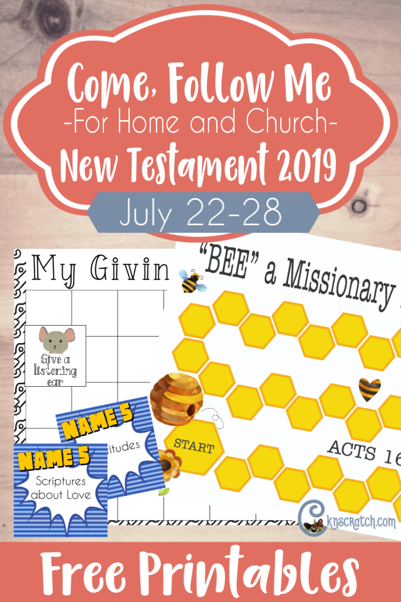 Such great lesson helps, ideas, and free printables for the Come Follow Me lessons- Acts 16-21 (July 22-28) #teachlikeachicken #LDS #ComeFollowMe