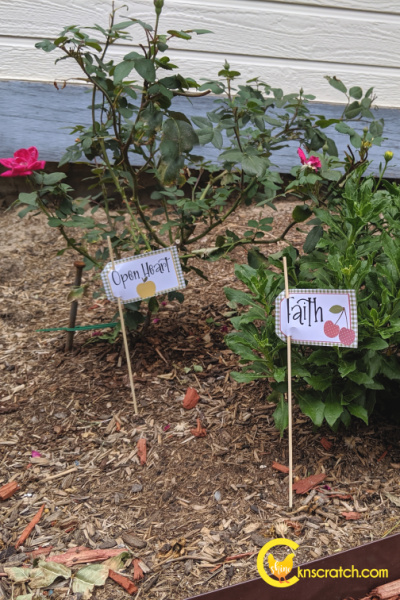 """Planting seeds through missionary work- great idea to teach how little things matter Goes with the Come Follow Me lesson """"Be perfectly joined together"""" #teachlikeachicken #LDS #ComeFollowMe"""