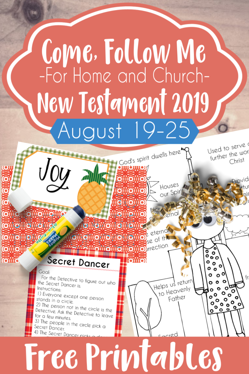 """So many great ideas to teach and study Come Follow Me 1 Corinthians 1-7 """"Be Perfectly Joined Together"""" #teachlikeachicken #LDS #ComeFollowMe"""