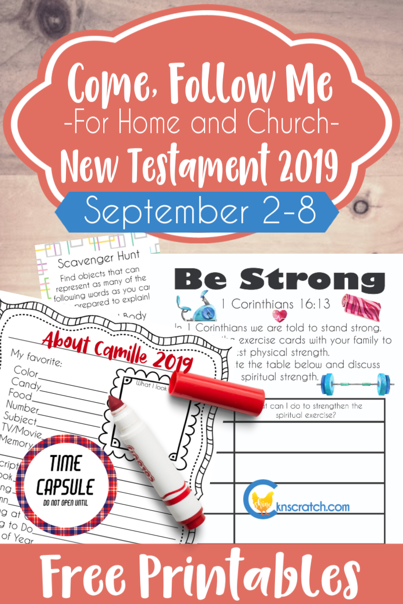 """Some many great activities and ideas to help you study Come Follow Me lesson 1 Corinthians 14-16 """"God Is Not the Author of Confusion, but of Peace"""" (September 2-8)  #teachlikeachicken #LDS #ComeFollowMe"""