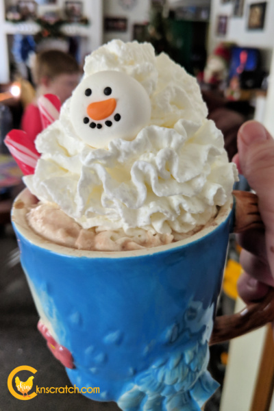 The perfect hot chocolate for watching the Polar Express! #teachlikeachicken #hotchocolate #PolarExpress