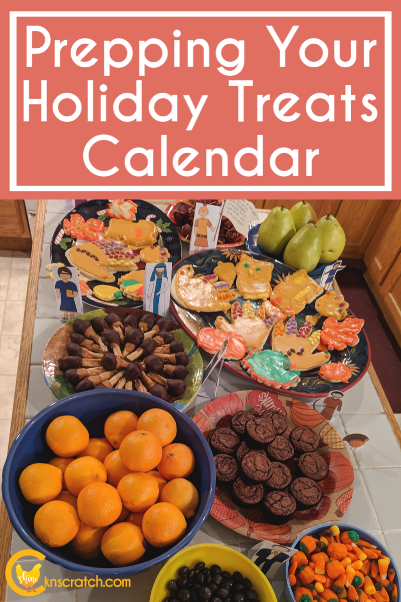 Making your holidays less stressful and more fun- great tips for prepping your holiday treat calendar plus ideas! #teachlikeachicken #holidays #Christmas