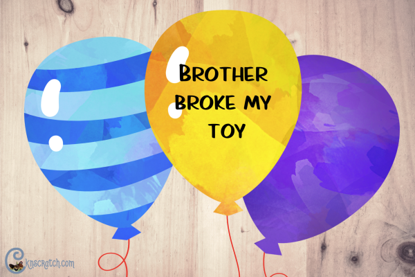 Use balloons to help teach how to forgive one another #teachlikeachicken #LDS #ComeFollowMe