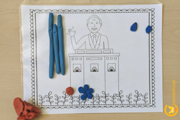 I'm loving these play dough mats for after church or General Conference weekend- so fun! #teachlikeachicken #LDS #GeneralConference