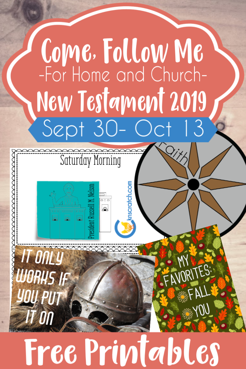 """So many great ideas and free printables to use for the Come Follow Me lesson that covers Ephesians """"For the Perfecting of the Saints"""" (Sept 30 -Oct 13) #teachlikeachicken #LDS #ComeFollowMe"""