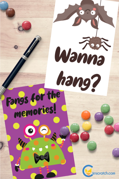 How cute are these! Halloween and fall cards to brighten up someone's day. #teachlikeachicken #Halloween #freeprintable