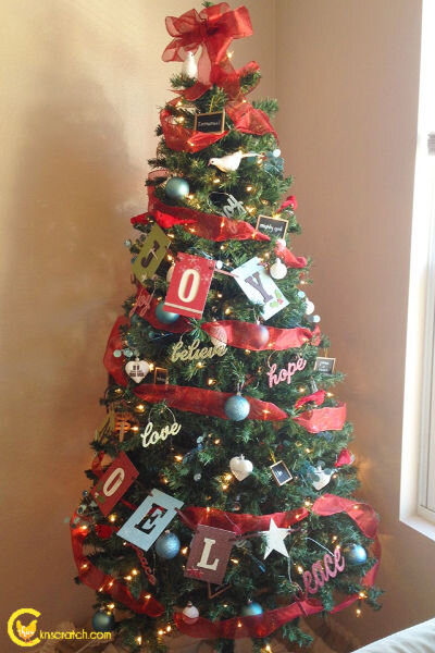 Thanks to the Mabey family for this photo of their Christmas tree!