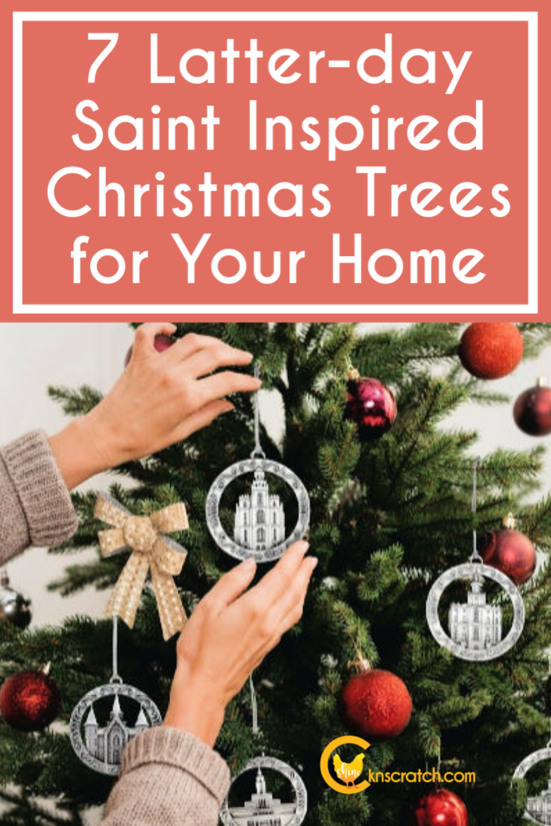 Love all these different Christ focused Christmas tree decoration ideas! #teachlikeachicken #LDS #Christmas