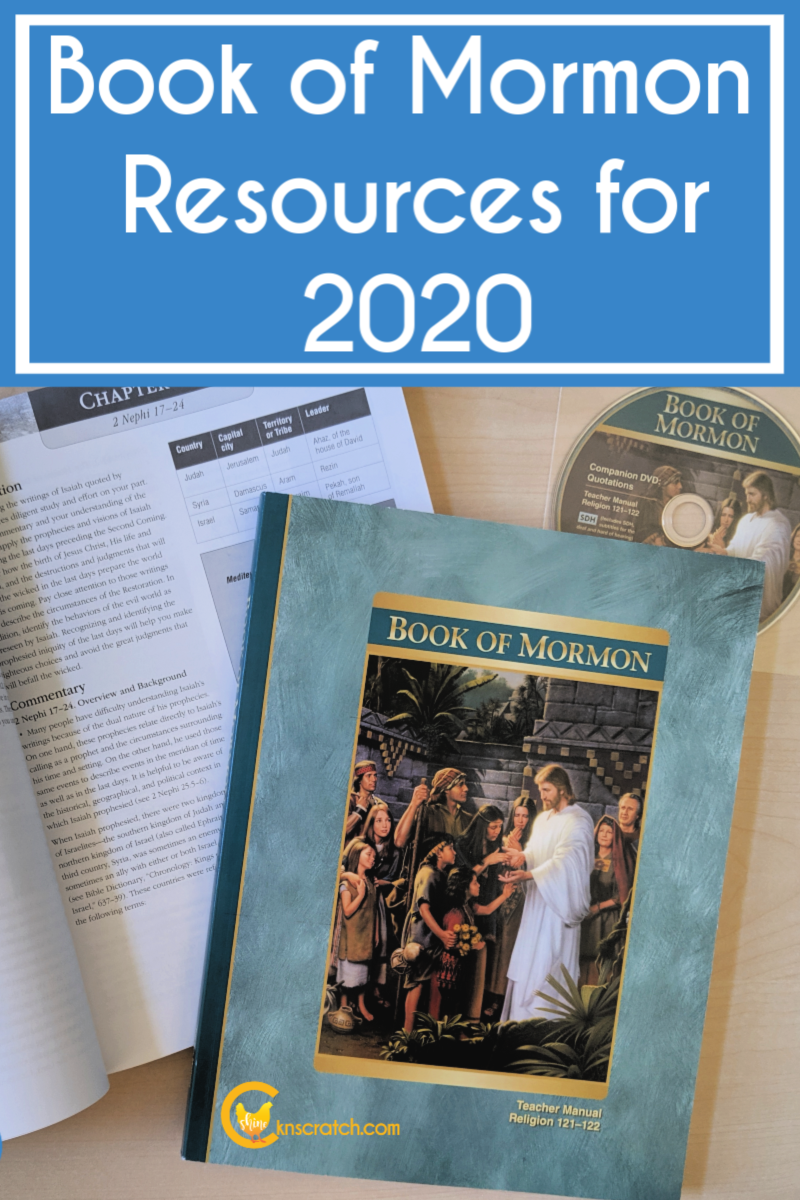 So many great resources to use as we study the Book of Mormon. So glad I found this helpful list! #teachlikeachicken #BookofMormon #ComeFollowMe