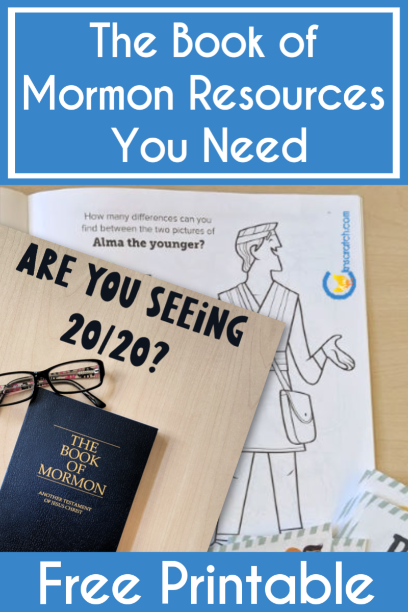 Book of Mormon coloring book! Almost forgot about this one- great list of resources for studying the Book of Mormon! #teachlikeachicken #LDS #BookofMormon #ComeFollowMe