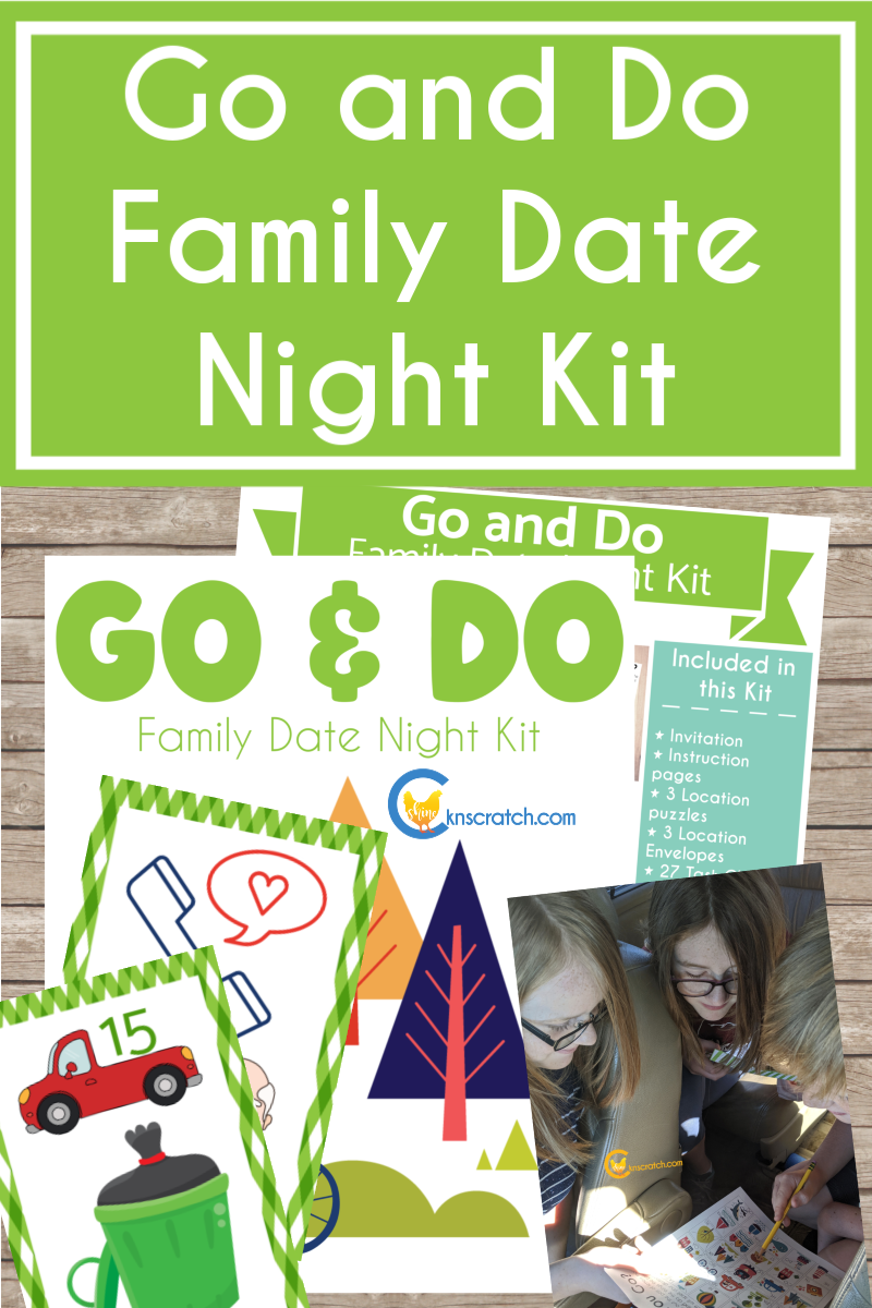 Love this new way to experience the scriptures! A Go and Do Family Date Night Kit that focuses on 1 Nephi 3-4. So much fun! #teachlikeachicken #BookofMormon #LDS