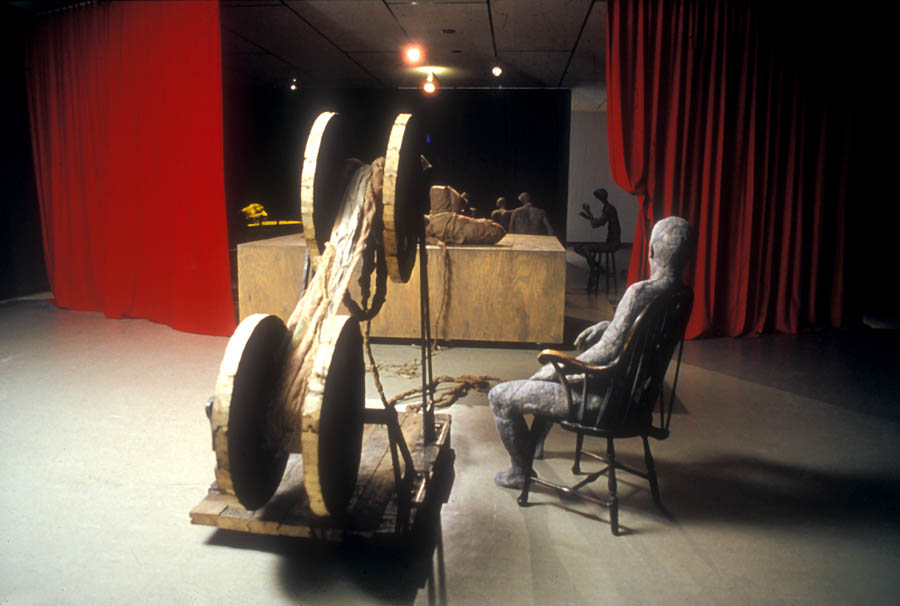 SMALL POTATOES, Installation View,  1988   Mixed Media, Dimensions Variable