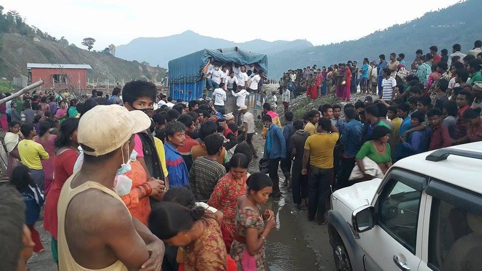 Distribution in Bhimatar
