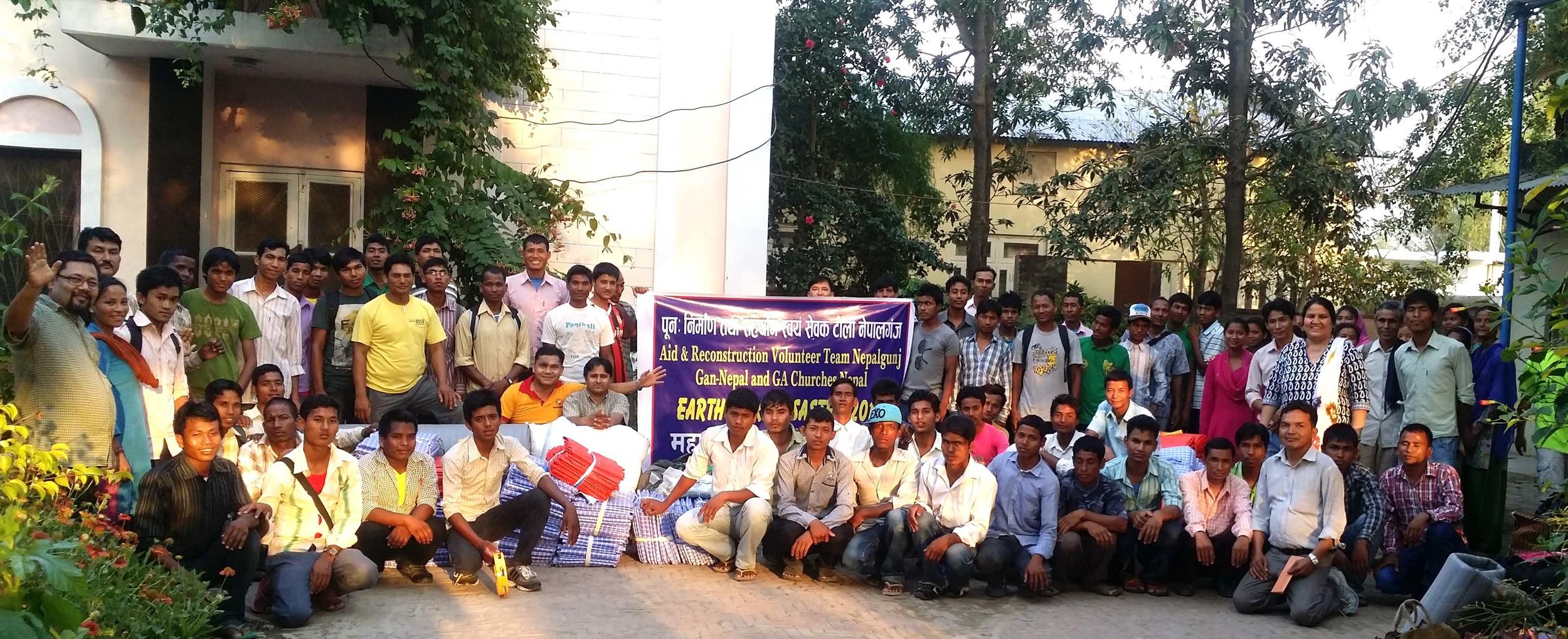 Nepali church volunteers