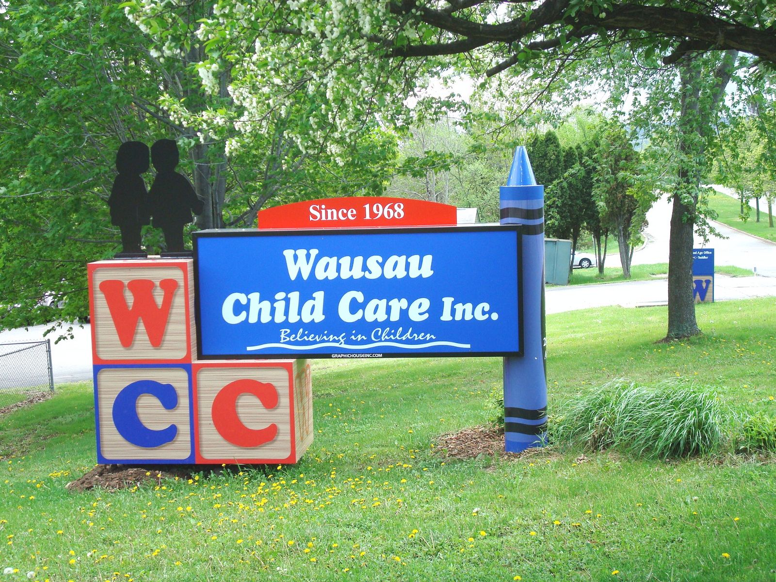 Sign outside of our Westside location at 505 N. 28th Avenue in Wausau, WI