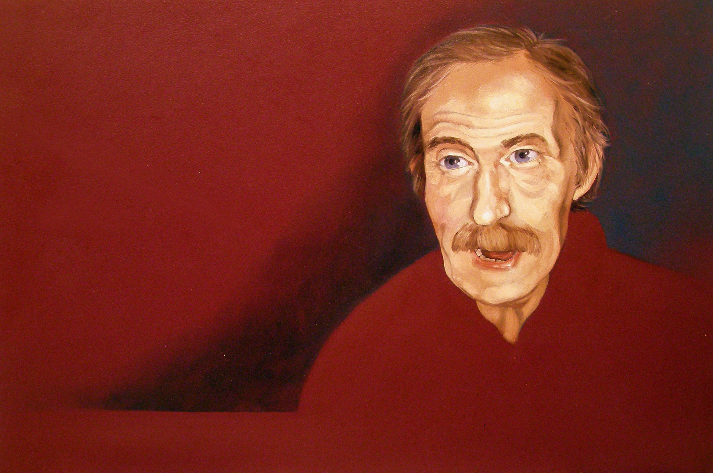 """October 13th , 11:47pm, 10 """"x 16 """", oil on laminate, 2008"""