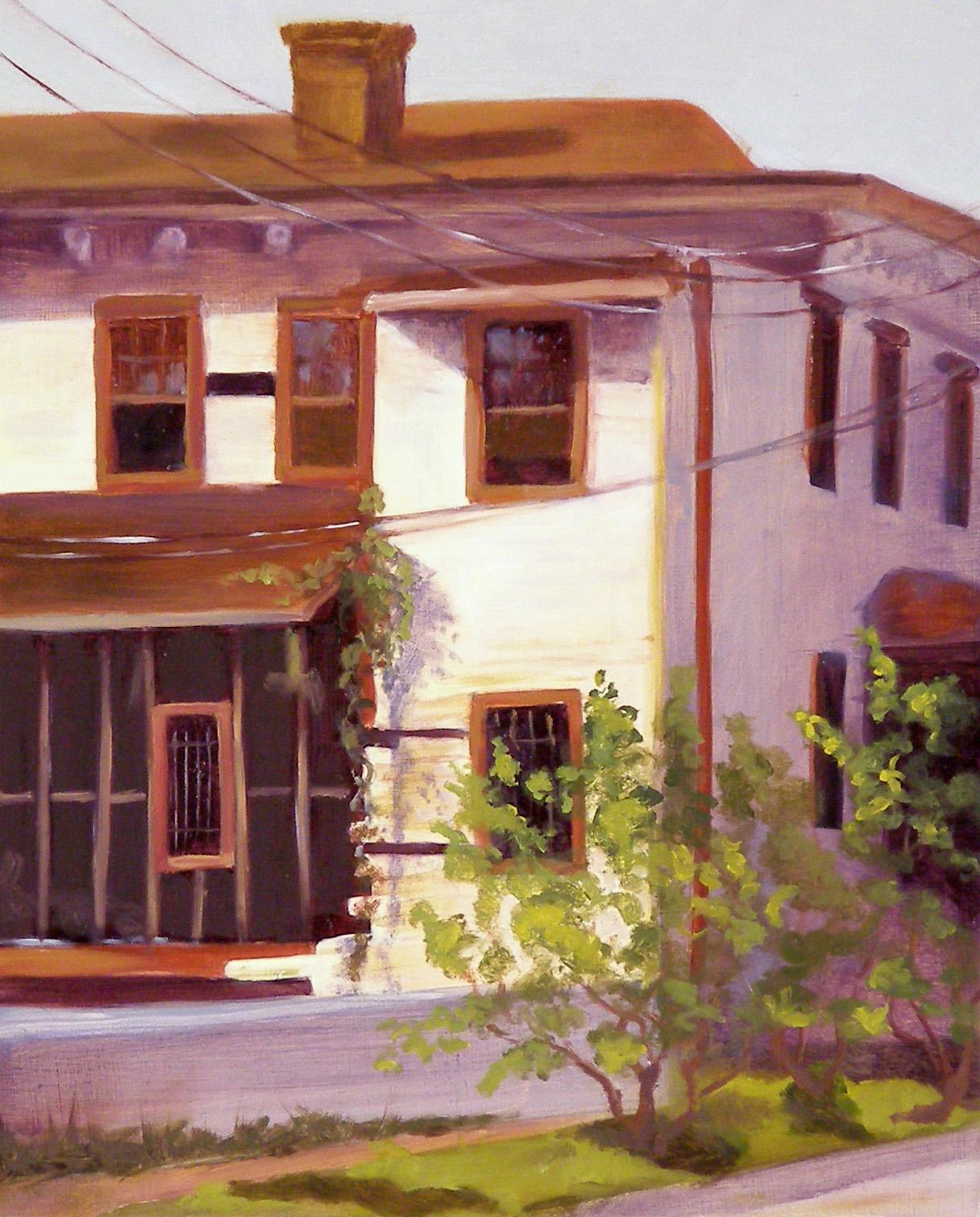 """E. Henry, 8x10"""", oil on panel, 2005"""