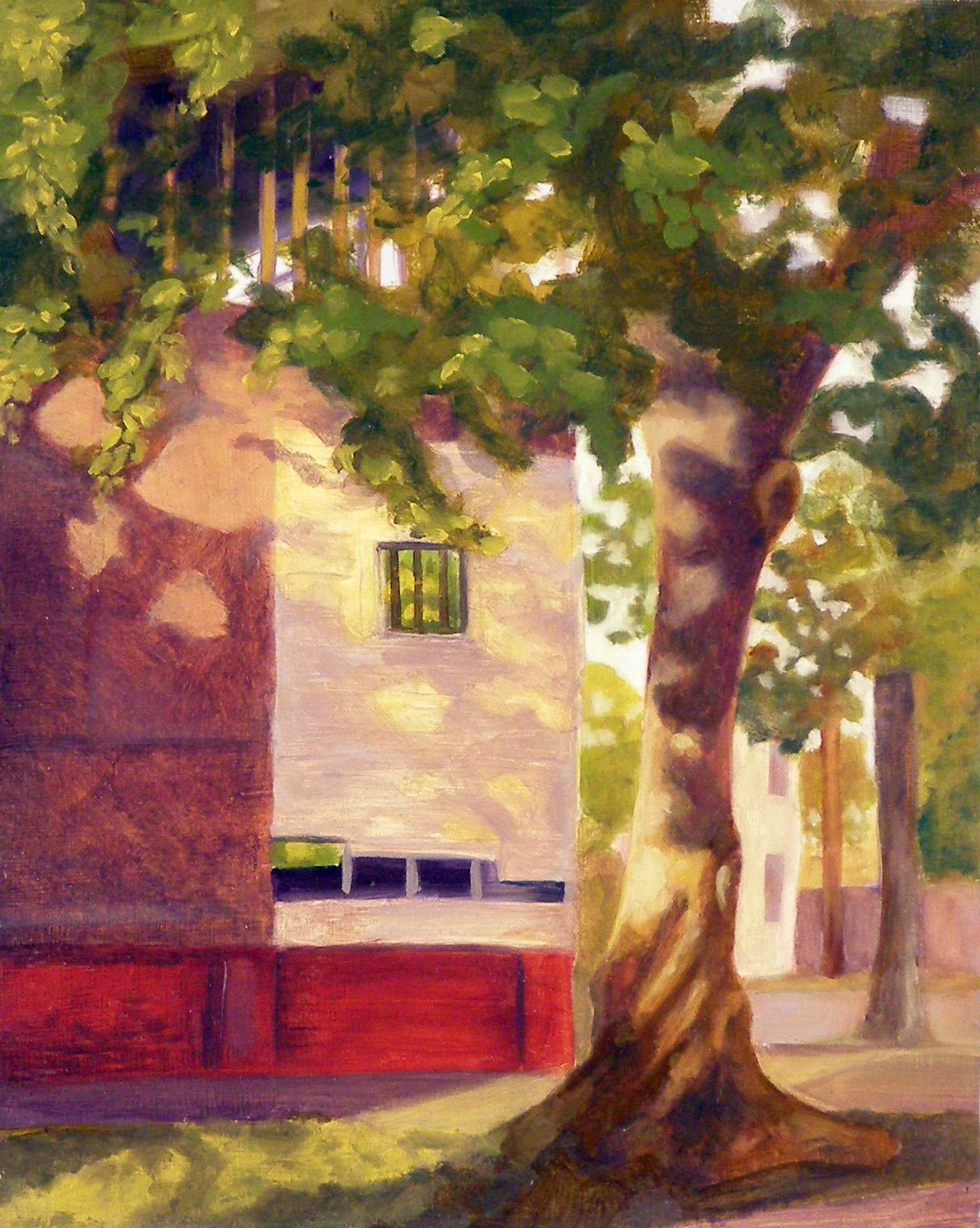 "W. Huntingdon, 8x10"", oil on panel, 2005"