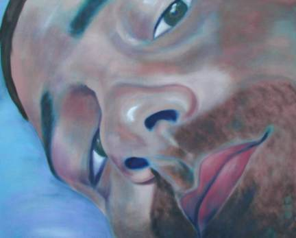 JT, 5x6', oil on canvas, 2000