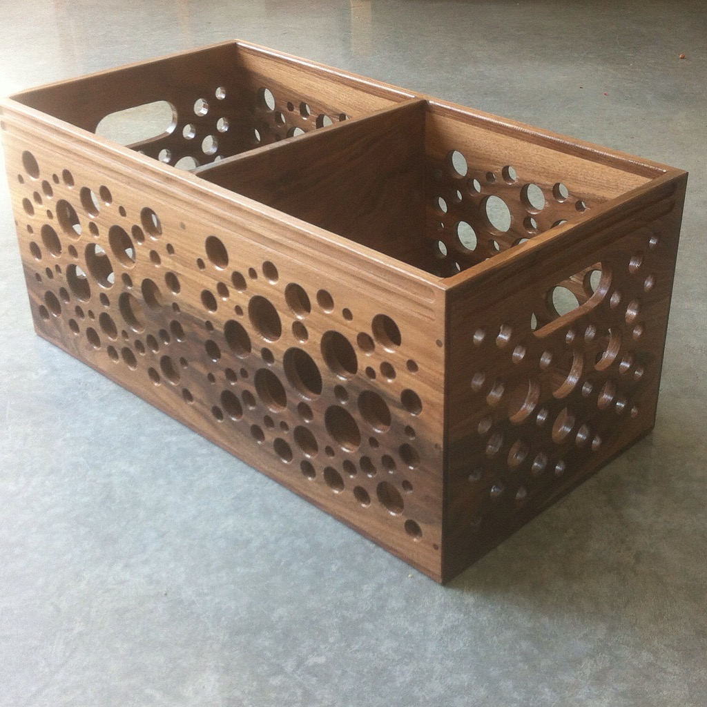 Double Crate in Walnut