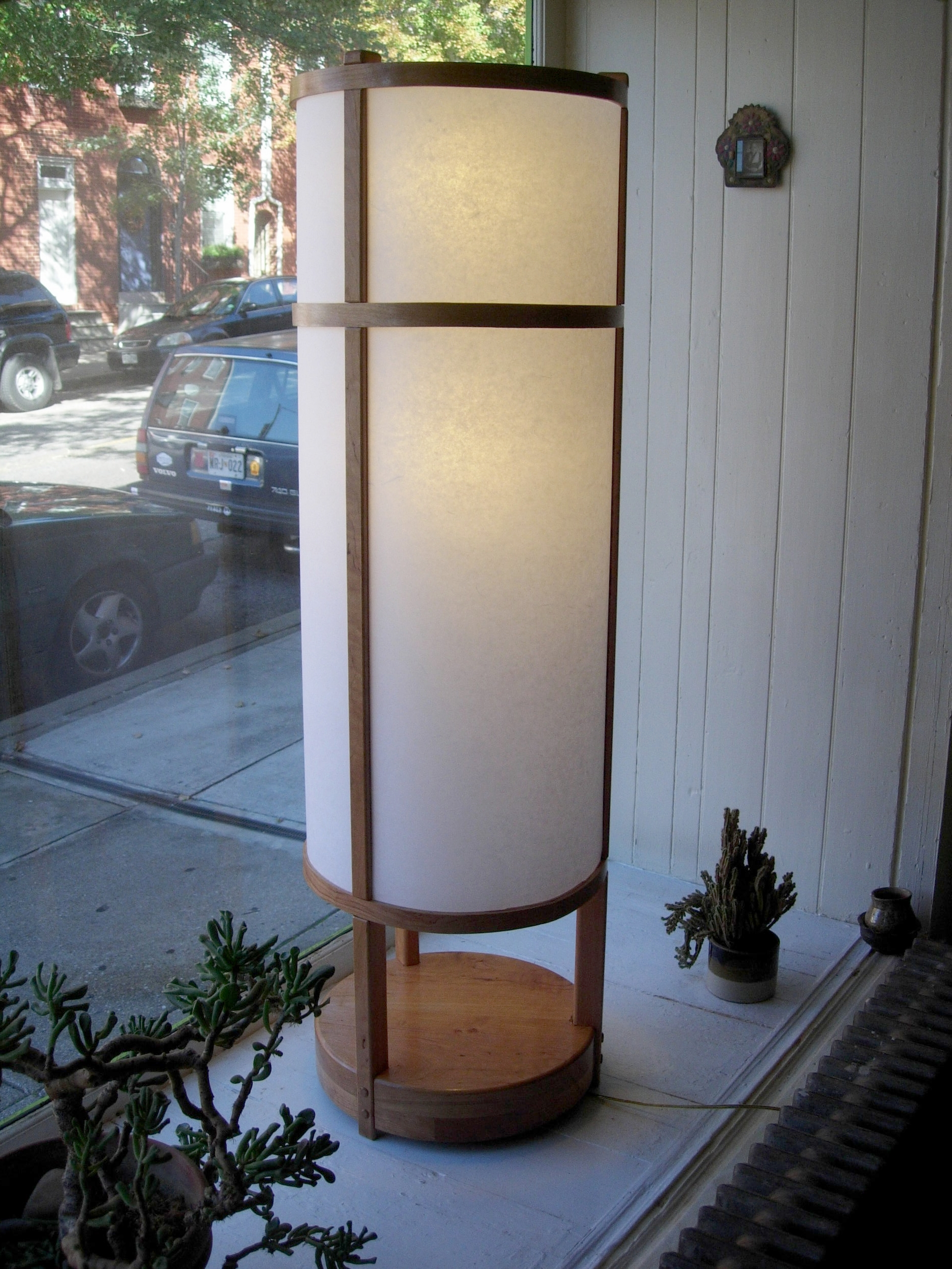 Japanese style Lamp in Cherry