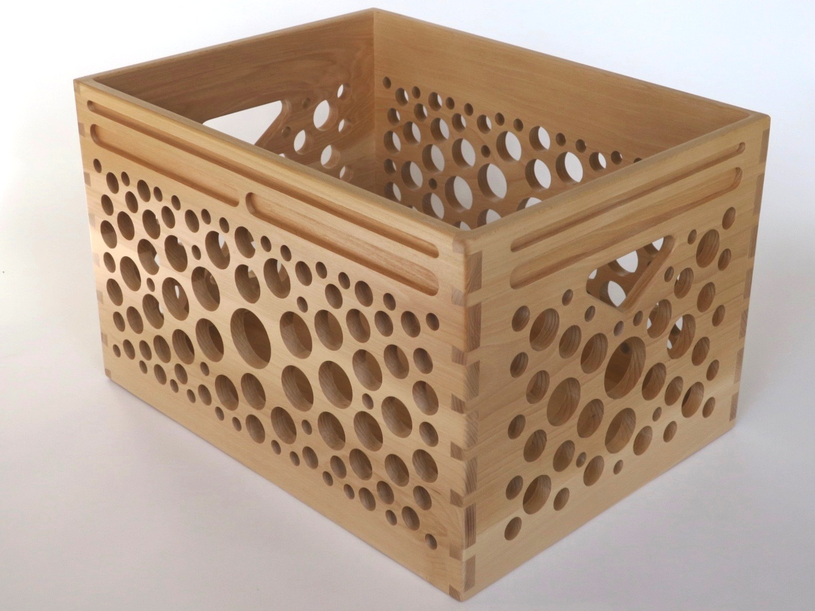 HiFi Crate in Beech