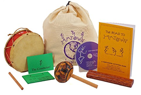 Kid's Musical Instrument Set: Fair Trade Peru and Bali