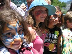 Summer Campers show their true colors at the Arroyo Seco 4th of July Parad