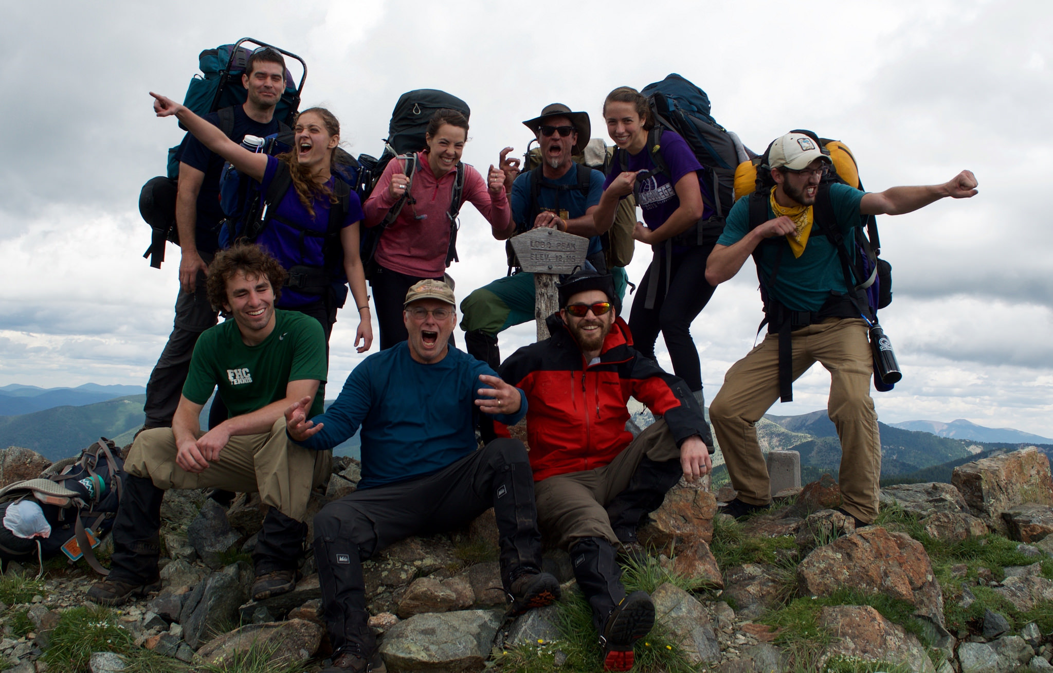 Todd Wynward (Localogy Board Prez / Author of  Rewilding the Way: Break free to follow an untamed God ) and Tyler Eshleman (Tilt Program Coordinator) and some wild-ones have been to the mountain top.
