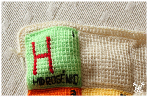 Periodic Table Blanket Boarder