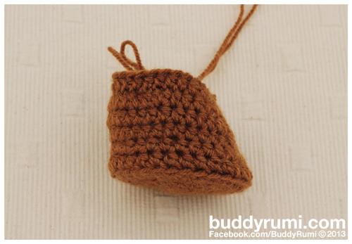 Crochet branch amigurumi