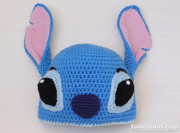 Stitch crochet hat