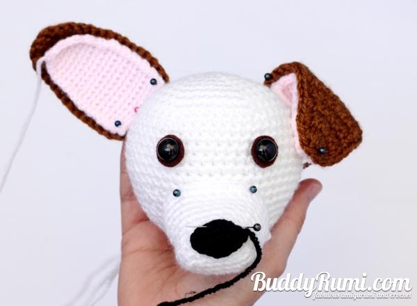 Amigurumi Cute Dog Free Pattern | 440x600