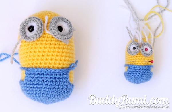 Minion amigurumi crochet