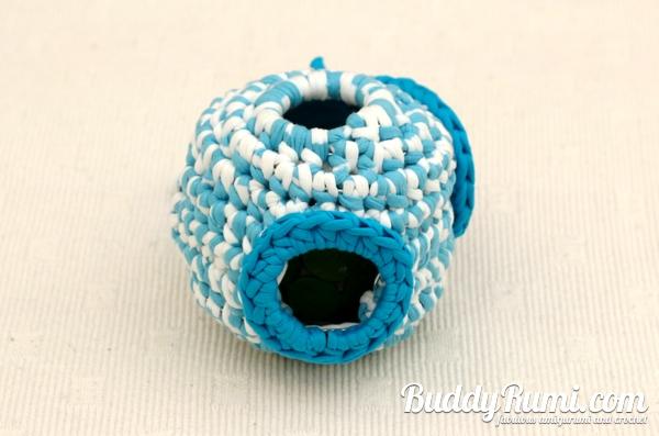 Crochet pet toys