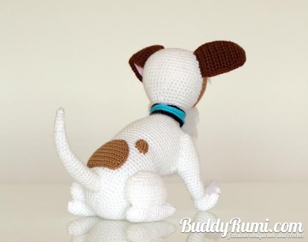 Amigurumi terrier puppy