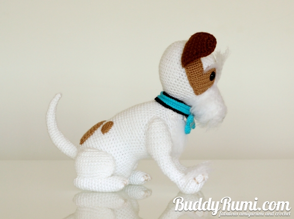 Custom crochet dog